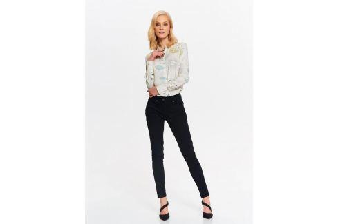 Top Secret Košile dámská béžová se vzorem a dlouhým rukávem Dámské halenky a košile
