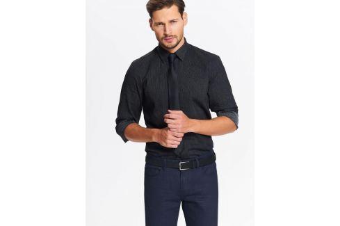 Top Secret Košile pánská se vzorem a dlouhým rukávem Pánské košile