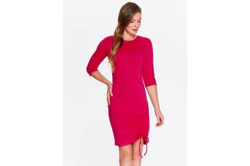 Top Secret šaty dámské jednobarevné s 3/4 rukávem Dámské šaty