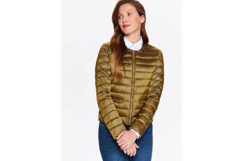Top Secret Bunda dámská prošívaná tmavě zlatá Dámské kabáty