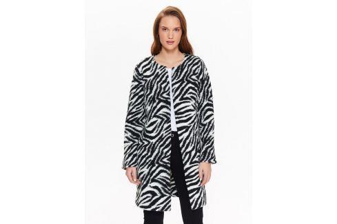 Top Secret Kabát dámský se vzorem zebry Dámské kabáty
