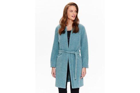 Top Secret Kabát dámský s páskem a kruhovým výstřihem Dámské kabáty