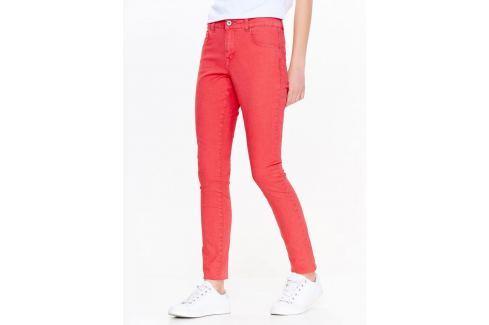 Top Secret Kalhoty dámské červené Dámské kalhoty