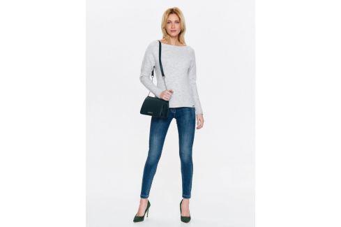 Top Secret Jeansy dámské SLIM se zipy na spodním lemu Dámské kalhoty