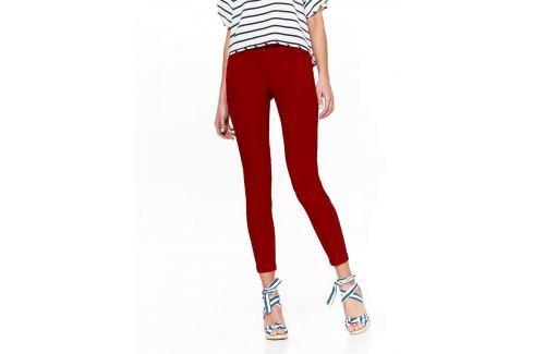 Top Secret Kalhoty dámské červené SKINNY Dámské kalhoty