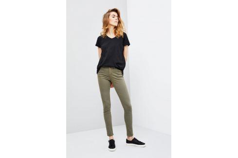 Moodo Kalhoty dámské s elastanem Dámské kalhoty