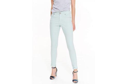Top Secret Kalhoty dámské bledě modré Dámské kalhoty