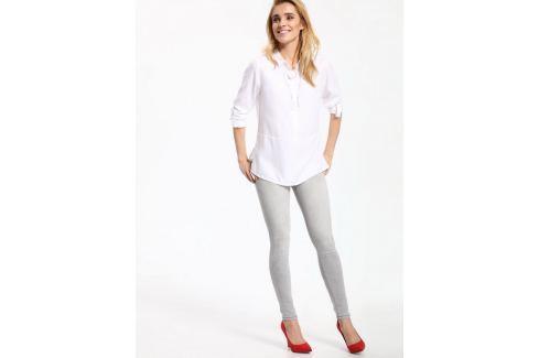 Top Secret Jeansy dámské šedé skinny Dámské kalhoty
