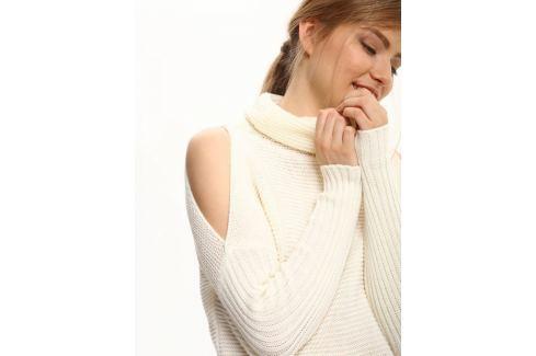 Top Secret Svetr dámský s průstříhy na ramenou dlouhý rukáv Dámské svetry