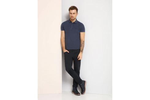 Top Secret Triko pánské s límečkem tmavě modré krátký rukáv Pánská trička