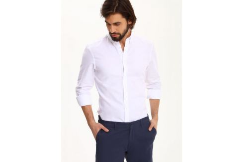 Top Secret Košile pánská bílá s dlouhým rukávem Pánské košile