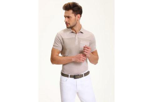 Top Secret Triko pánské s límečkem krátký rukáv Pánská trička