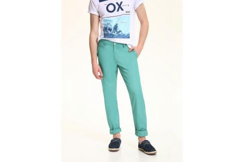 Top Secret Kalhoty pánské bavlněné zelené Pánské kalhoty