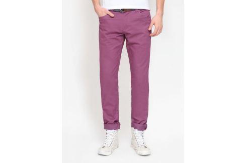 Top Secret Kalhoty pánské fialové poslední kus Pánské kalhoty