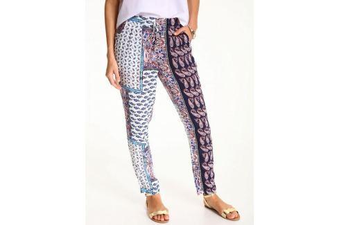 Top Secret Kalhoty dámské vzorované na gumu Dámské kalhoty