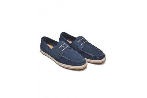 Top Secret Mokasíny pánské tmavě modré Pánské boty